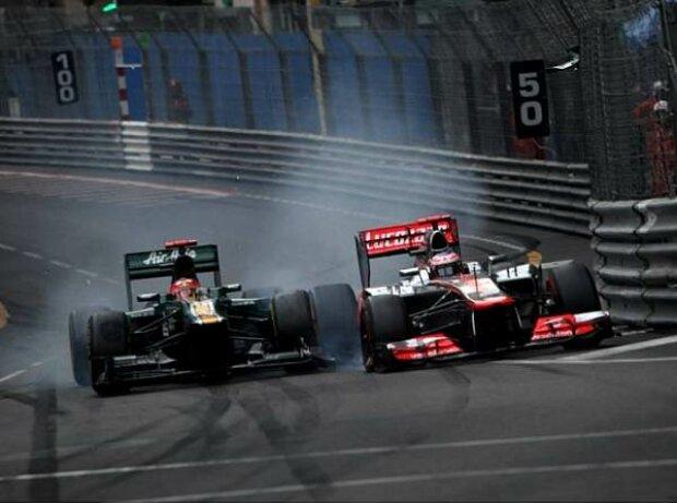 Heikki Kovalainen, Jenson Button