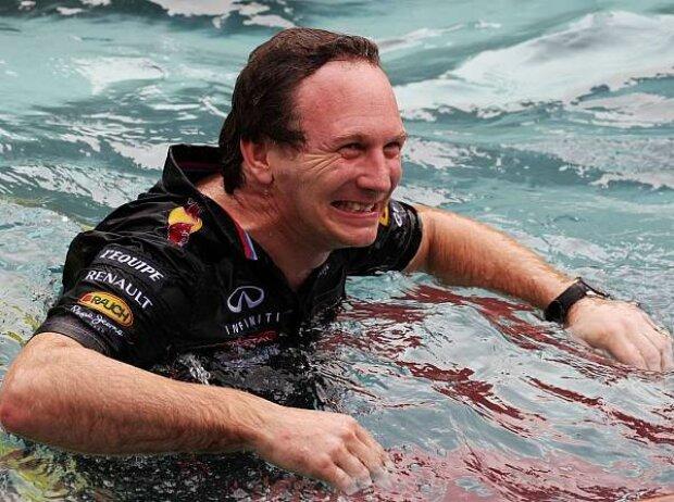 Christian Horner (Red-Bull-Teamchef), Mark Webber