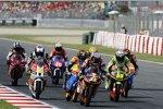 Kampfgruppe im Moto3-Rennen