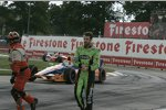 James Hinchcliffe (Andretti) nach seinem Abflug