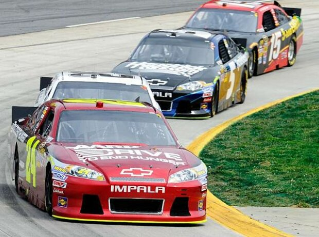 Clint Bowyer, Kasey Kahne, Kevin Harvick, Jeff Gordon