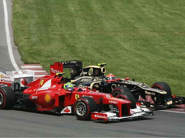 Felipe Massa, Romain Grosjean