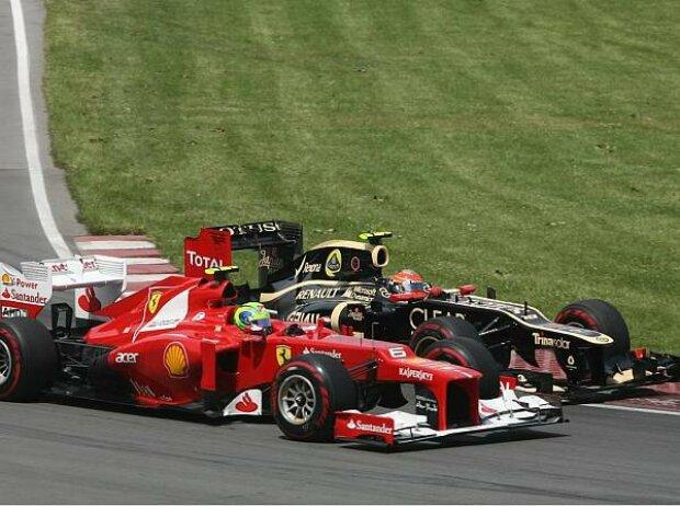 Felipe Massa, Romain Grosjean