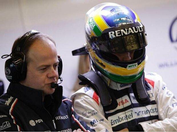 Mark Gillan und Bruno Senna