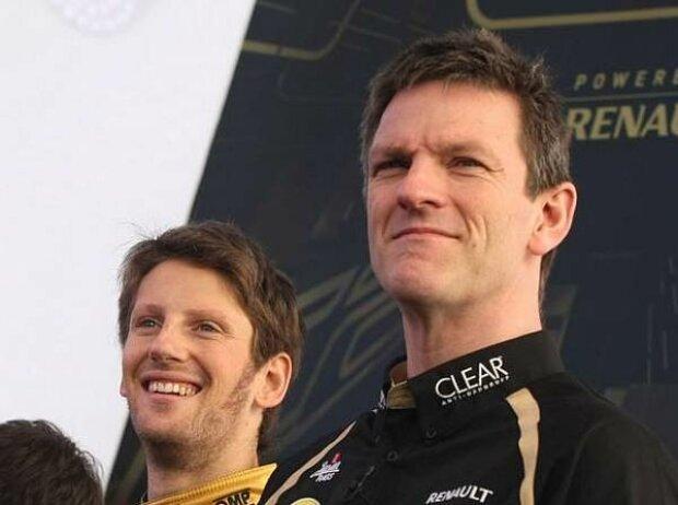 James Allison, Romain Grosjean