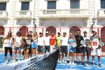 Das HRT-Team im Tennis-Fieber