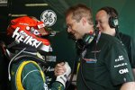 Heikki Kovalainen und John Iley (Caterham)
