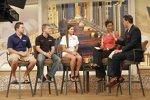 Promo-Auftritt in Chicago mit Ricky Stenhouse, Danica Patrick und Justin Allgaier