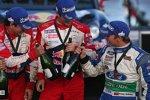 Sebastien Loeb (Citroen) und Petter Solberg (Ford)