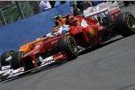 Fernando Alonso (Ferrari) und Nico Hülkenberg (Force India)