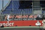 Fans von Pedro de la Rosa (HRT)