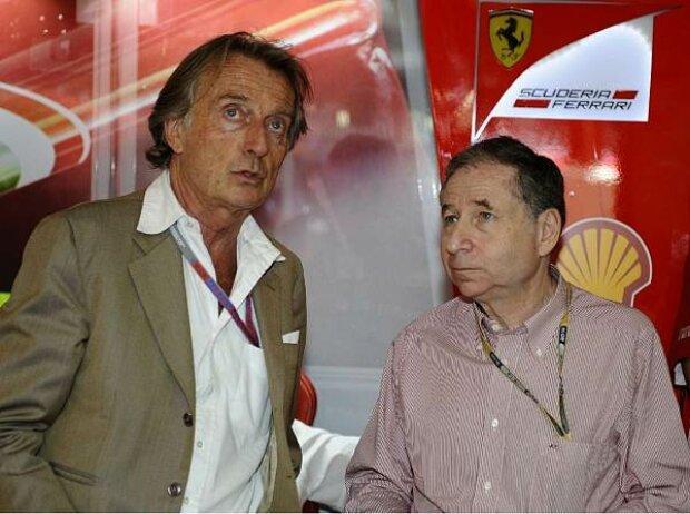 Luca di Montezemolo und Jean Todt