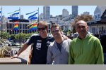 James Nash (Aon), Tiago Monteiro (Tuenti) und  Gabriele Tarquini (Lukoil)