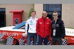 James Nash (Aon), Gabriele Tarquini (Lukoil) und  Tiago Monteiro (Tuenti)