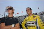 Ryan Briscoe und Helio Castroneves (Penske)