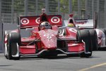 Scott Dixon (Ganassi) immer in den Top 3