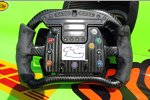 Das Lenkrad von James Hinchcliffe (Andretti)