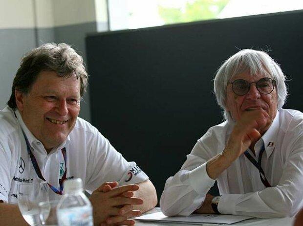 Norbert Haug und Bernie Ecclestone