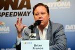 NASCAR-Chef Brian France bei seiner Halbzeitanalyse