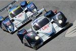 Die beiden Lola-Mazda des Dyson-Teams