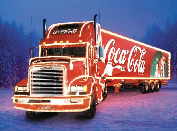 Coca-Colas berühmter Weihnachts-Truck