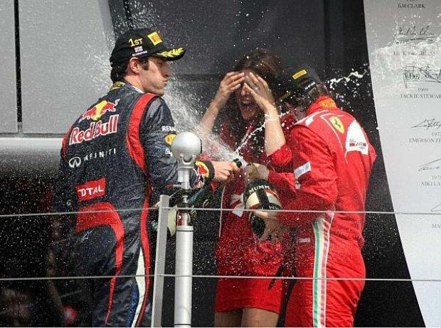 Mark Webber, Fernando Alonso