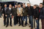 Rowan Atkinson zu Besuch in Silverstone