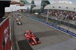 Start zum Honda Indy Toronto mit Dario Franchitti (Ganassi) an der Spitze