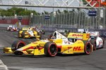 Ryan Hunter-Reay (Andretti) ist der Mann der Stunde bei den IndyCars