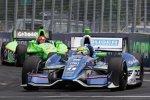 Tony Kanaan (KV) und James Hinchcliffe (Andretti)