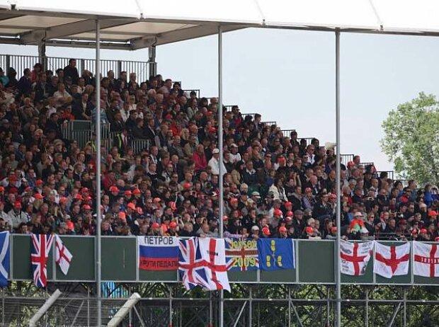 Fans in Silverstone