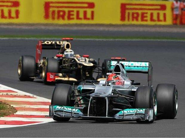 Michael Schumacher, Kimi Räikkönen