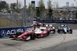 Marco Andretti (Andretti) vor Mike Conway (Foyt) und Alex Tagliani (Herta)
