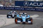 Josef Newgarden (Fisher) vor Rubens Barrichello (KV)