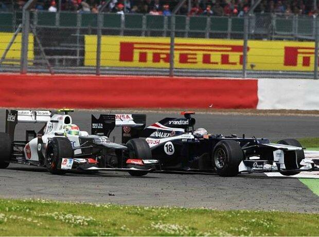 Pastor Maldonado, Sergio Perez