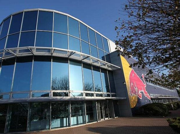 Das Red-Bull-Hauptquartier in Milton Keynes