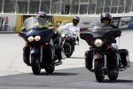 Kyle Petty und Matt Kenseth mit einem Charity-Bike-Ride nach Bristol