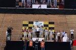 Timo Scheider (Abt-Audi), Ralf Schumacher (HWA-Mercedes), Jamie Green (HWA-Mercedes), Gary Paffett und Christian Vietoris (HWA-Mercedes)