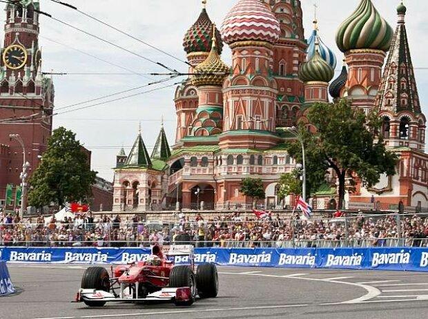 Giancarlo Fisichella, Moskau, Russland