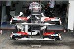 Sauber C31 Frontflügel