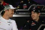 Nico Rosberg (Mercedes) und Sebastian Vettel (Red Bull)