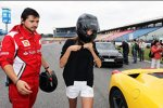 Fernando Alonso (Ferrari) und seine neue Freundin Daschia Kapustina