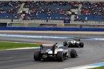 Nico Rosberg (Mercedes) und Bruno Senna (Williams)