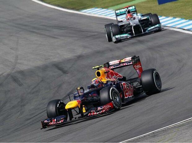 Mark Webber, Michael Schumacher