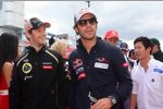 Romain Grosjean (Lotus) und Jean-Eric Vergne (Toro Rosso)