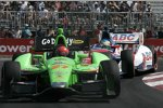 James Hinchcliffe (Andretti) und Mike Conway (Foyt)