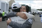 Sergio Perez und Monisha Kaltenborn (Sauber)