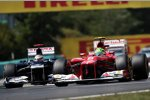 Felipe Massa (Ferrari) und Pastor Maldonado (Williams)