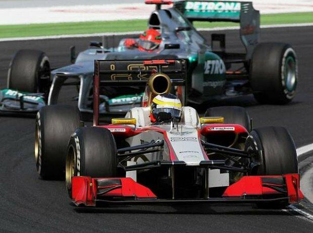 Pedro de la Rosa, Michael Schumacher