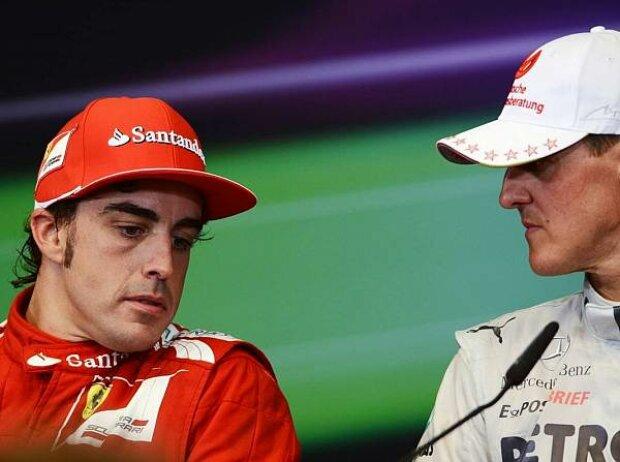 Michael Schumacher, Fernando Alonso